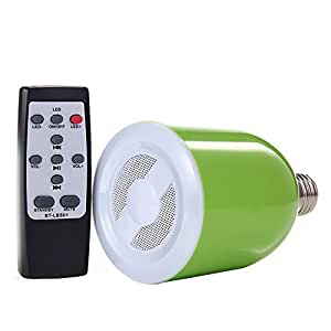 Link Plus 300 Lumens LED Bulb With Bluetooth Speaker For Meizu M2 Note Assorted Color