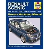 Haynes Workshop Manual Renault SCENIC & Grand 03 - 06by Haynes