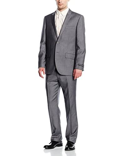 French Connection Traje Hombre Gris