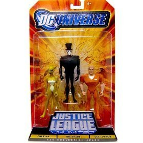 Buy Low Price Mattel DC Universe Justice League Unlimited Fan Collection Action Figure 3Pack Cheetah, Shade & Lex Luthor (B002MPXDH8)