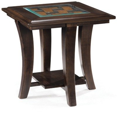 Cheap Magnussen T1780 Tivoli Hazelnut Finish Wood Rectangular End Table (T1780-03)