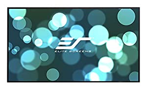 Elite Screens Aeon, 92-inch 16:9, Ambient Light Rejecting ALR Fixed Frame EDGE FREE Projection Projector Screen, AR92DHD3