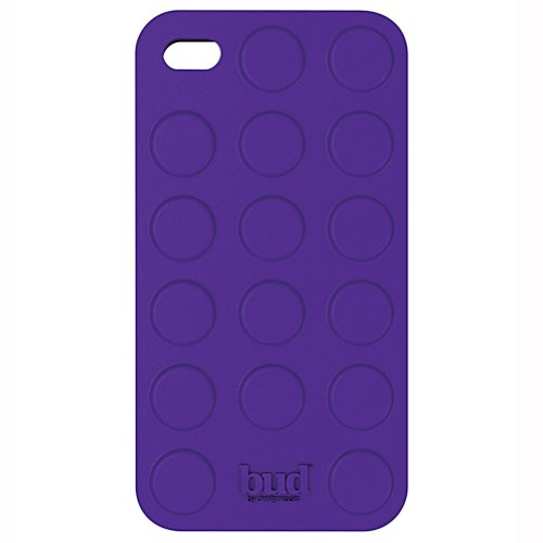 PT Bud Case for Iphone 4/ 4s Bump Silicone (Purple)