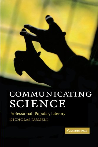 Communicating Science: Professional, Popular, Literary