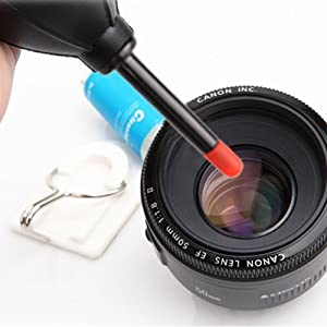 Silicone Hurricane Air Blower for DSLR Lens Sensor Cleaning