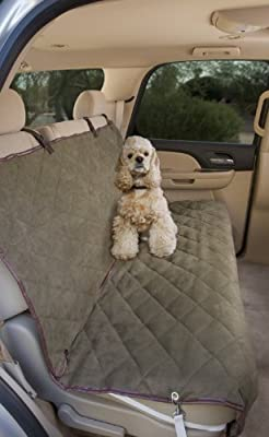 Deluxe Pet Car Seat Cover, Quilted, Water Resistant, and Machine Washable