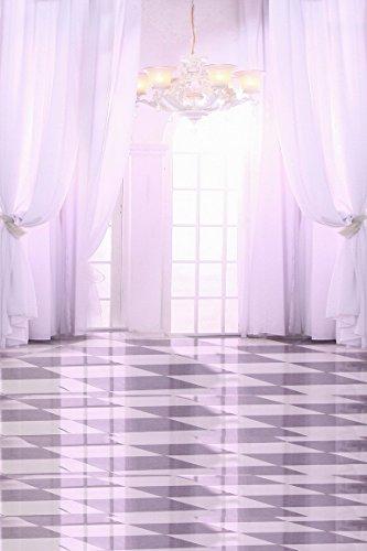 amonamour-weisse-hochzeit-hallenboden-kronleuchter-drapierung-studio-fotohintergrunde-5x7ft-wandviny