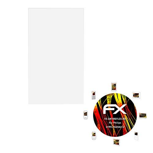 atFoliX Folie Philips 37PFL7605H/12 Displayfolie - FX-Antireflex-HD Entspiegelung für hochauflösende displays