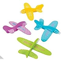 SmallToys Foam Easter Gliders 48-Pack