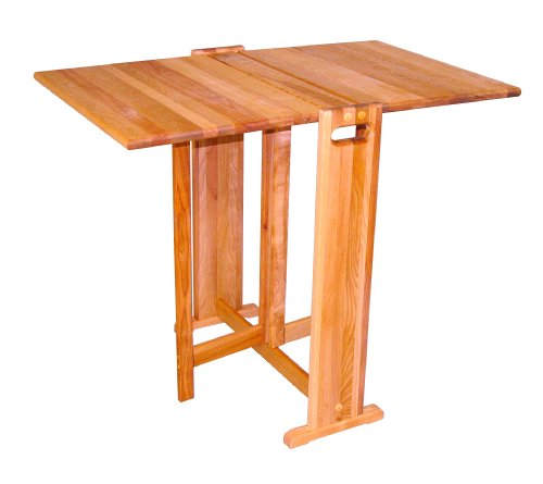 Catskill Craftsmen Fold-A-Way Butcher Block Table (Norden Gateleg Table compare prices)
