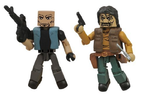The Walking Dead Minimates: Series 4 The Governor and Bruce Action Figure 2-Pack by Diamond Select