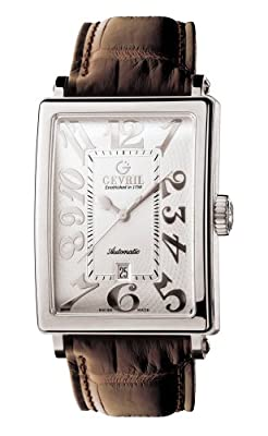 Gevril Men's 5000 Avenue of Americas Automatic Date Watch