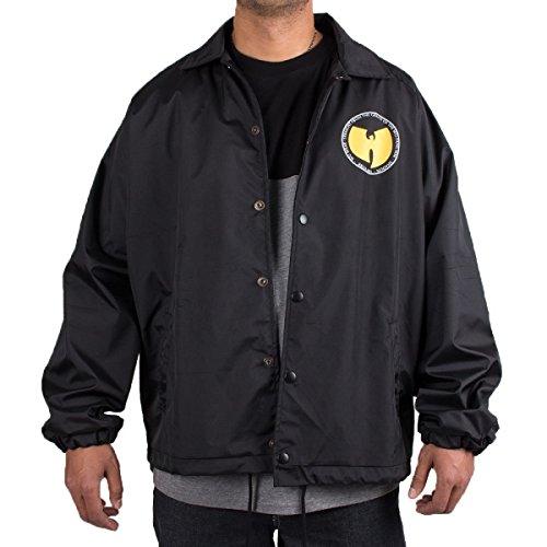 Wu Wear - Wu Tang Clan - Wu Nylon Jacket - Wu-Tang Clan Size L, Color Black