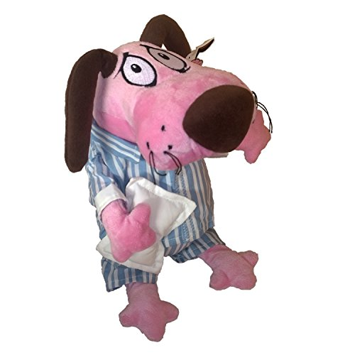 Peluche 30cm LEONE IL CANE FIFONE Versione PIGIAMA Originale Cartoon Network