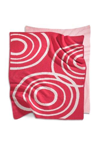 Organic Knit Blanket Color: Blossom Pink
