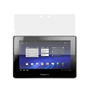 GTMax 3 LCD Screen Protector for Blackberry Playbook Tablet