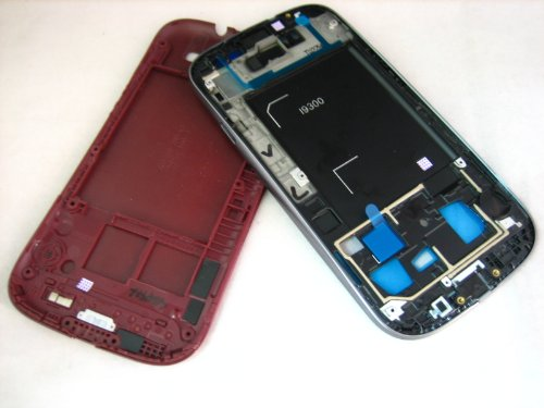 Samsung Galaxy S3 III GT-i9300 ~ Red Cover Housing ~ Mobile Phone Repair Part Replacement (Samsung Galaxy S3 Red compare prices)