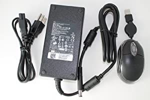 Dell Original 19.5V 9.23A 180W Replacement AC Adapter For Dell Notebook Model Numbers: Alienware M14X, Alienware M14X AM14X-5116SBK, Alienware M14X AM14X-6667SBK, Alienware M14X AM14X-6833BK, Alienware M14X AM14X-8056BK, Alienware M14X R2, Alienware M14X R2 AM14RX2-7222BK, Alienware M14X R2 AM14RX2-7494BK. 100% Compatible With Dell P/N: FA180PM111, ADP-180MB B, DA180PM111, 74X5J, JVF3V. Bundle - 3 items: AC Adapter, Power Cord and MegaPlus Optical Mouse - Black.