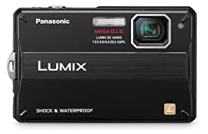 Panasonic Lumix DMC-TS10 14.1 MP Digital Camera with 4x Optical Image Stabilized Zoom and 2.7-Inch LCD (Black)