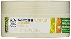 The Body Shop Rainforest Moisture Hair Butter, Regular, 6.7 Ounce