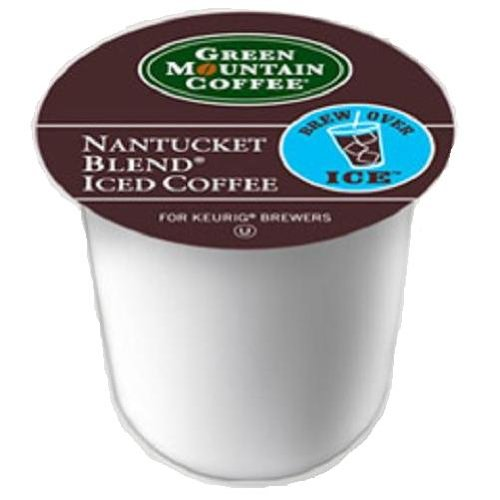 Green Mountain Coffee Nantucket Iced, 22-Count K-Cups for Keurig Brewers