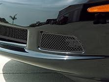 buy American Car Craft Chevrolet Corvette 2005 2006 2007 2008 2009 2010 2011 2012 2013 Black Mesh Driving Fog Light Trim Ring Covers Kit