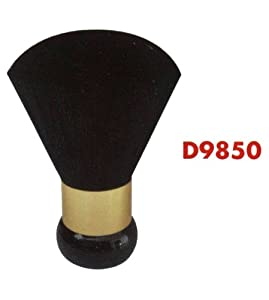 Diane Neck Duster, Black and Gold