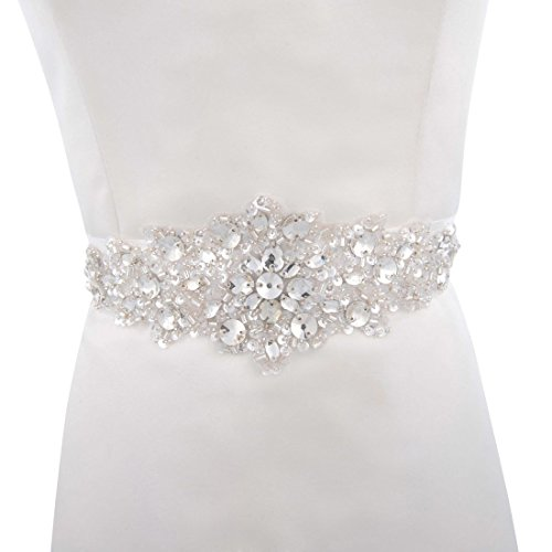 Ouman Beaded and Sequined Bridal Sash