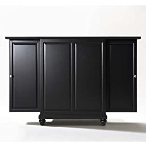 Crosley Furniture Cambridge Expandable Bar Cabinet In