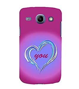 printtech Love You Back Case Cover for Samsung Galaxy A5 / Samsung Galaxy A5 A500F