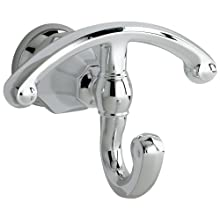 American Standard 6028.210.002 Dazzle Robe Hook with Lower Hook Swivel, Polished Chrome