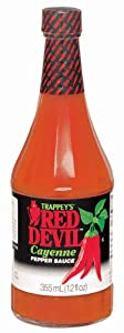 Trappeys Red Devil Cayenne Pepper Sauce - 12 Oz from B&G Foods
