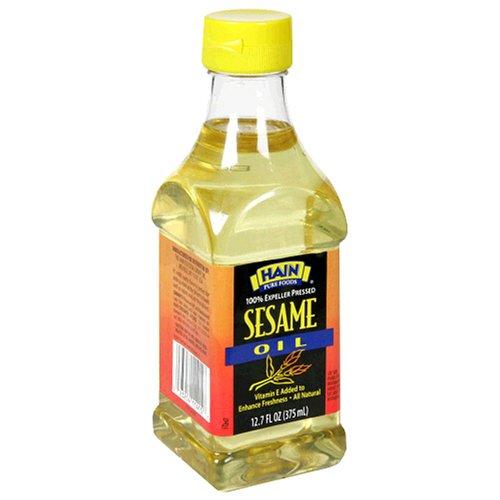 Hain Pure Foods Sesame Oil, 12.7 Ounce Unit