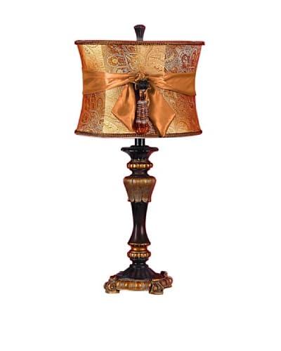 Polystone Table Lamp 26H