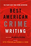Best American Crime Writing: 2002 (0375421637) by Penzler, Otto
