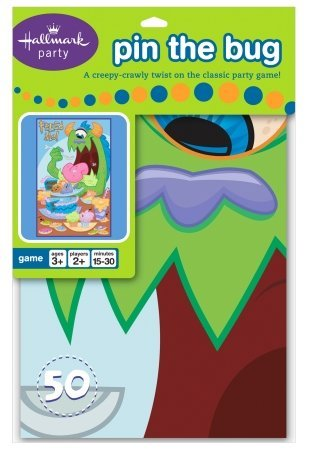 Pin the Bug Party Game Party Accessory