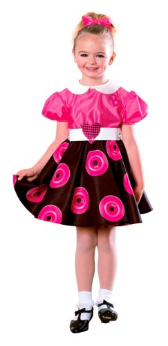 50's Girl Barbie Costume - Child Small