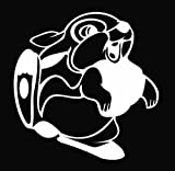 Thumper Die Cut Vinyl Decal Sticker 5 White
