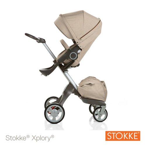 Stokke Xplory Stroller - Beige Melange