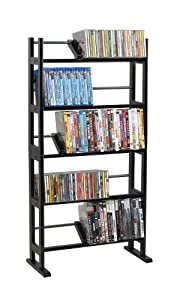 Atlantic Element Media Rack 230 CD/150 DVD/BluRay/Games