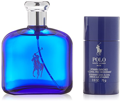 POLO BLEU LOT 2 pcs