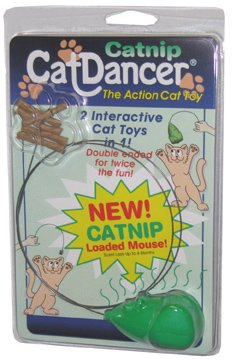 CAT DANCER - WITH CATNIP MOUSE