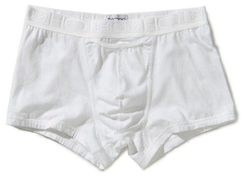HOM Herren Slip 2 er Pack 10094608 HO1 Coton 2P HO1 Maxi, Gr. 6 (L), Weiß (WHITE - LIGHT COMBINATION M015)