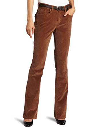 Levi's Women's 515 Boot Cut Corduroy Pant, True Brown Cord, 4 Medium