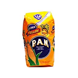 Goya Foods Harina P.A.N. Yellow Corn Meal, 35-Ounce (Pack of 20)