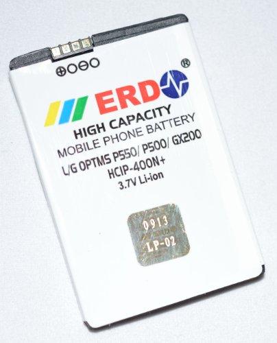 ERD LG Compatible Battery LG Optimus P550 / P500 / GX200 - HCIP-400N+