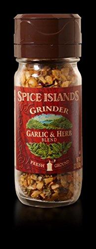 Spice Islands Grinder Garlic & Herb, 2.2 oz (Pack of 3) (Spice Islands Grinder compare prices)