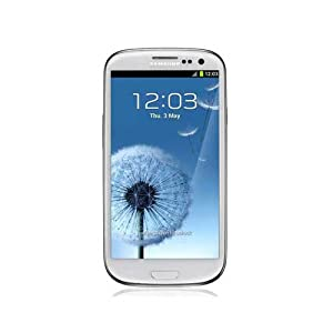 Samsung Galaxy S III / S3 Unlocked GSM Smart Phone (Marble White)