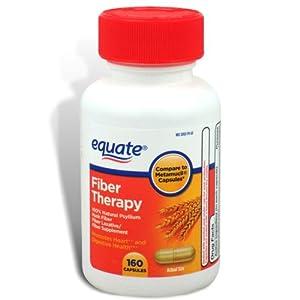 Equate Fiber Therapy, For Regularity Fiber Supplement Capsules