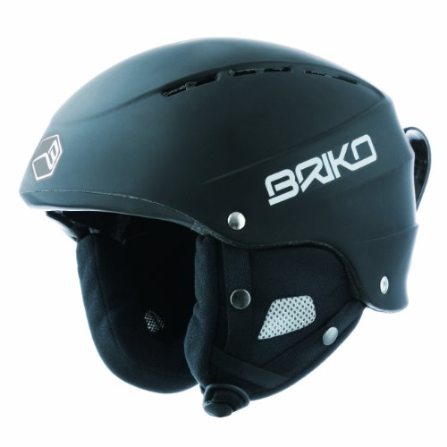 Briko Fluid, Casco da sci, 013214AT-60, Nero